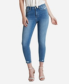 Women's Super High Rise Skinny Crop Jeans