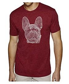 Men's Premium Word Art French Bulldog T-shirt