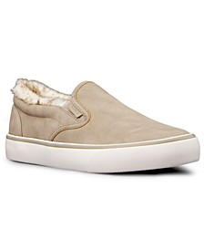 Women's Clipper LX Fur Classic Slip-On Fashion Sneaker