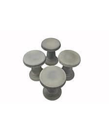 Mushroom Stools - Set of 4