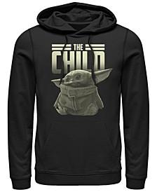 Men's Star Wars Mandalorian Child Fleece Pullover Hoodie