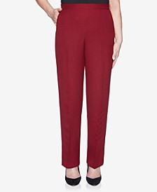 Women's Plus Size Madison Avenue Textured Proportioned Short Pant
