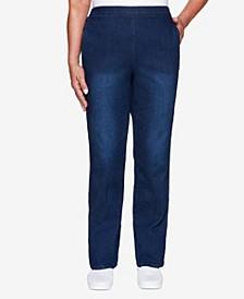 Women's Plus Size Classics Allure Proportioned Short Denim Pant
