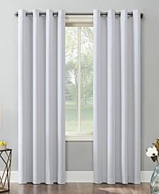 """Saxon Blackout Grommet Curtain Panel, 54"""" x 95"""""""