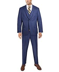 Men's Classic-Fit Sharkskin Suit Separates