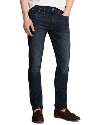폴로 랄프로렌 Polo Ralph Lauren Mens Sullivan Slim Stretch Jeans,Blue