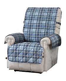 Tartan Plaid Recliner Cover