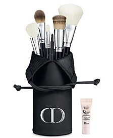Receive a Complimentary DIOR Brush holder and Deluxe Dreamskin with any $150 Dior Beauty Purchase