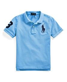 Big Boys Classic Fit Cotton Mesh Polo Shirt