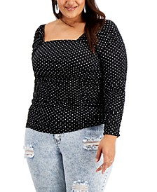 Trendy Plus Size Ruched Top