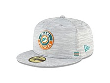 Miami Dolphins On-field Sideline 59FIFTY Cap