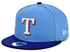 Texas Rangers 2 Tone Link 9FIFTY Snapback Cap