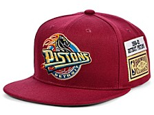 Detroit Pistons Hardwood Classic Jockey Snapback Cap