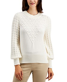 Popcorn Sweater, Created for Macy's