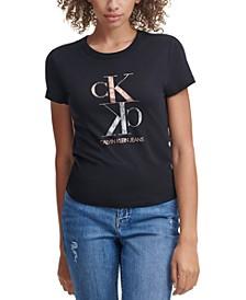 Foil Logo Crewneck T-Shirt