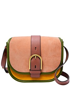 Women's Wiley Leather Saddle Bag