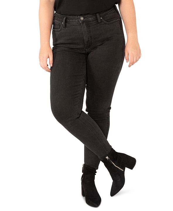 Silver Jeans Co. Plus Size High Note Skinny Jeans