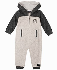 Baby Boys Hooded Coverall