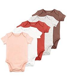 Baby Girl 5pk SS Bodysuit