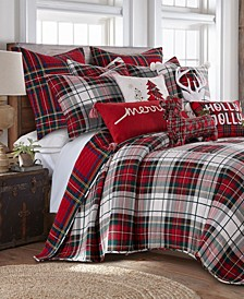 Spencer Plaid Reversible Quilt and Sham Collection