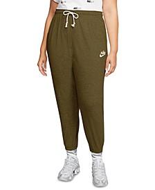 Plus Size Sportswear Gym Vintage Pants