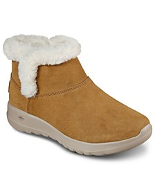 Women's On The Go Joy - Bundle Up Wide Width Winter Boots from Finish Line