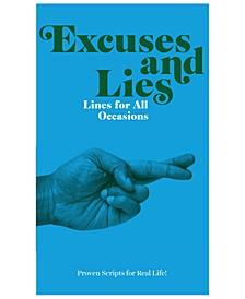 Excuses Paperback Book