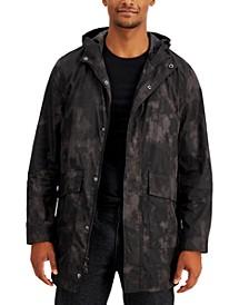 INC Men's Bradley Hooded Camo Print Jacket, Created for Macy's