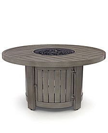 Tara Round Fire Pit,  Created for Macy's