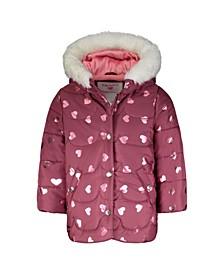 Toddler Girls Fashion Coat