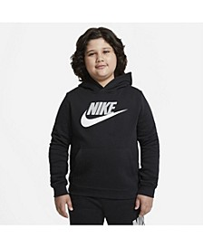 Big Boys Club Fleece Extended Size Sportswear Pullover Hoodie
