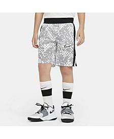 Big Boys Elite Printed Basketball Shorts
