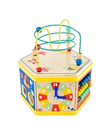 "Small Foot Wooden Toys Activity Center 7"" 1 Iconic Motor Skills Playset"