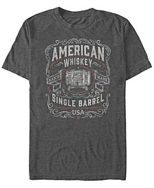 Men's Generic Additude Whiskey Nation Short Sleeve T-shirt