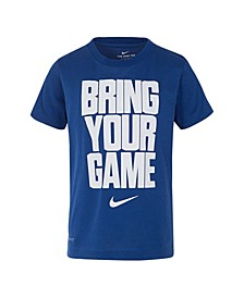 """Toddler Boys Dri-Fit """"Bring Your Game Not Your Name"""" T-shirt"""