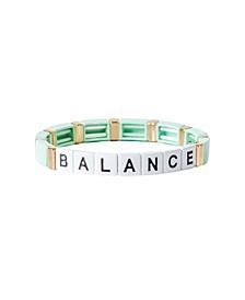 Block Balance Bracelet
