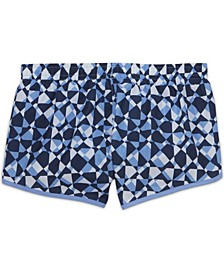 Dri-Fit Big Girl's Printed Training Shorts