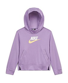 Plus Size Big Girls Sportswear Pullover Hooded Sweatshirt- Extended Sizing