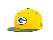 Green Bay Packers 2-Tone 59FIFTY Cap