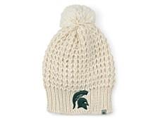 Michigan State Spartans Women's Fur Pom Knit