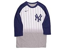 Youth New York Yankees 3/4-Sleeve Raglan T-Shirt