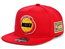 Houston Rockets Championship Patch Fitted Cap
