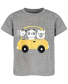 Baby Boys Animal Driver T-Shirt, Created for Macy's