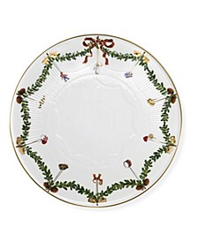 Star Fluted Christmas Cake Dish 12.5""