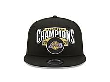 Los Angeles Lakers NBA Kids Locker Room Finals Champ 9FIFTY Cap