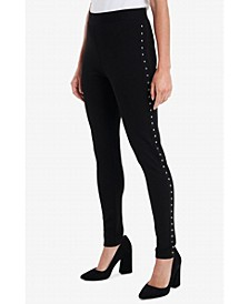 Plus Studded Leggings