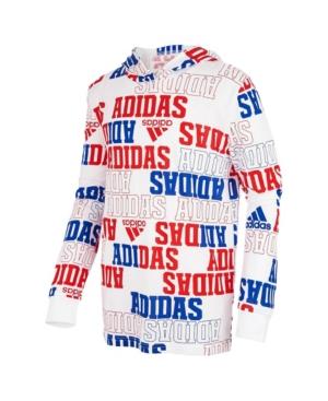 Adidas Originals LITTLE BOYS LONG SLEEVE COLLEGIATE HOODED SWEATSHIRT