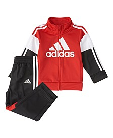Little Boys Zip Front Bold Pack Jacket Set