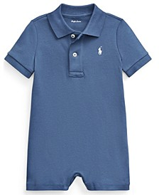 Ralph Lauren Baby Boys Cotton Interlock Polo Shortall