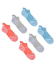 Women's 1/2 Terry Low Cut Socks, 3 Pack